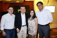 Fábio Albuquerque, Ricardo Bezerra, Lívia Medeiros e Rafael Rodrigues