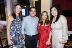 Ionar Vasconcelos, Alex Mendes, Zileide Silva e Alessandra Jacó