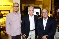 João Carlos Lima, Pio Rodrigues e André Montenegro
