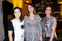 Luzia Bastos, Luciana Villas Boas e Goreth Albuquerque