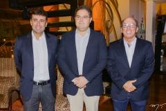 Marcos Novaes, Edson Queiroz Nero e André Montenegro