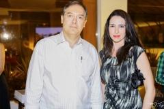 Pedro Saboya e Daniela Cintra