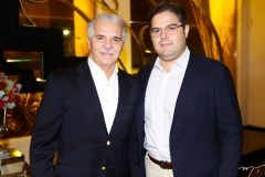 Pio Rodrigues e Edson Queiroz Neto