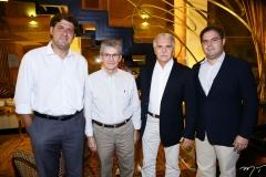 Rafael Rodrigues, Pádua Lopes, Pio Rodrigues e Edson Queiroz Neto