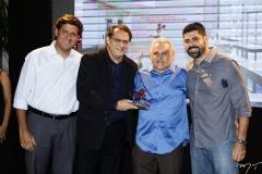 Rafael Rodrigues, Paulo Fraga, Emanuel e Felipe Capistrano