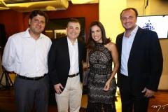 Rafael Rodrigues, Ricardo Bezerra, Ana Virgínia Martins e Adriano Nogueira