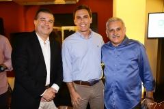 Ricardo Bezerra, Carlos Fiúza e Emanuel Capistrano