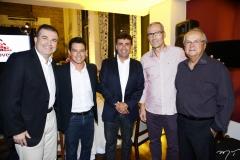 Ricardo Bezerra, Rodrigo Freire, Marcos Novais, João Carlos Lima e Hélio Galiza