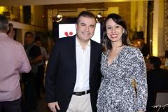 Ricardo Bezerra e Luciana Villas Boas