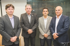 Edgar Gadelha, Ricardo Cavalcante, Aluísio Ramalho Filho e Marcelo Machado