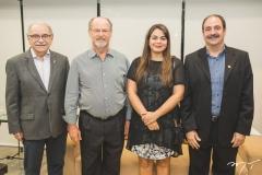 Ednilton Soárez, Vasco Moretto, Marina Abifadel e Paulo André Holanda