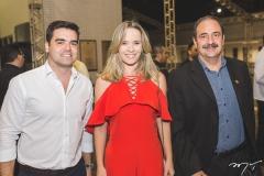 Felipe Rocha, Tereza Ribeiro e Paulo André Holanda