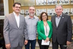 Marcelo Prado, Mauro Costa, Ana Xavier e Ricardo Cavalcante