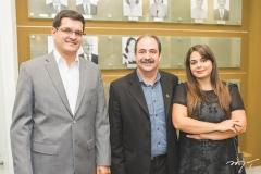 Marcelo Prado, Paulo André Holanda e Marina Abifadel