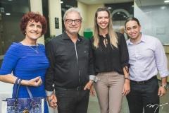 Margarete Donadel, Ilomar Donadel, Suélen Guerra e Rafael Lima