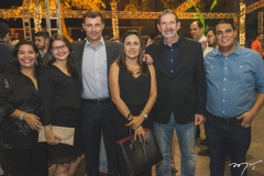 Marina Frota, Karina Cavalcante, André Pinto, Regina Caetano, Jaime Bellicanta e Robson Maltaroli