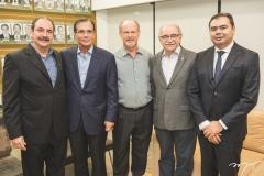 Paulo André Holanda, Beto Studart, Vasco Moretto, Ednilton Soárez e Idilvan Alencar