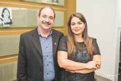 Paulo André Holanda e Marina Abifadel