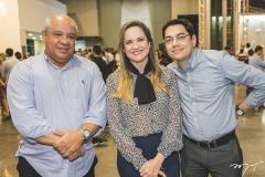 Pedro Alfredo, Juliana Guimarães e Erick Picanço