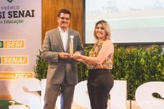 Solenidade de entrega do Prêmio SESI SENAI de Educação