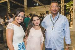 Talita Rodrigues, Mariana Lira e Gerônimo Lima