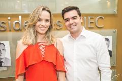 Tereza Ribeiro e Felipe Rocha