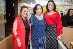 Aparecida Alencar, Eugênia Almeida e Sandra Pinheiro