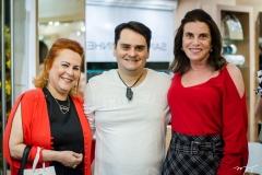 Aparecida, Ricardo Alencar e Sandra Pinheiro
