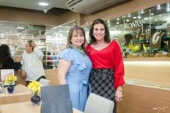 Carmen Cinira e Sandra Pinheiro