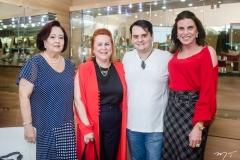Eugênia Almeida, Aparecida e Ricardo Alencar e Sandra Pinheiro