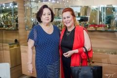 Eugênia Almeida e Aparecida Alencar