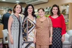 Lourdes Alves Cunha, Mazé Jereissati, Graça Romcy e Sandra Pinheiro
