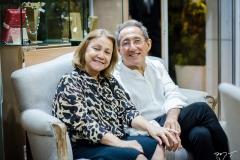 Márcia Freire e Luiz Alencar