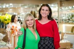 Mônica Tassigny e Sandra Pinheiro
