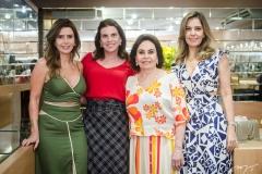 Patrícia Nogueira, Sandra Pinheiro, Marlene e Rosele Nogueira