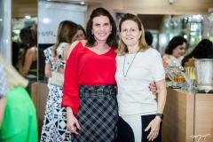 Sandra Pinheiro e Eliane Parente Machado