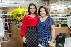Sandra Pinheiro e Eugênia Almeida