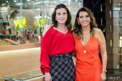 Sandra Pinheiro e Márcia Travessoni