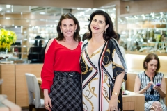 Sandra Pinheiro e Mazé Jereissati