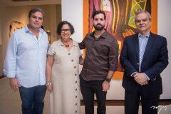 Edson Queiroz Neto, Nicinha Dias, Felipe Rocha e Max Perlingeiro