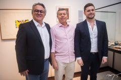 George Leitão, Anastácio Marinho e Victor Perlingeiro