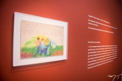 Preview da exposição 'Leonilson por Antonio Dias'