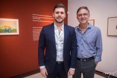 Victor Perlingeiro e Haim Erel