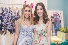 Nicole Benevides e Sara Brasil