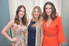 Sara Brasil, Bruna Magalhães e Mari Lima