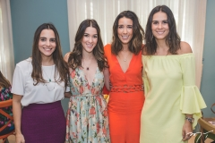 Ticiana Machado, Sara Brasil, Mari Lima e Deborah Bandeira