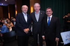 Candido Albuquerque, Ricardo Cavalcante e Benildo Aguiar