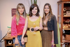 Beatriz Feitosa, Rafaela Victor e Carolina Pinto