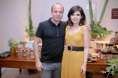 César Bueno e Rafaela Victor