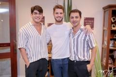 Laércio Giovani, Kennedy Pinheiro e Dyeggo Carvalho
